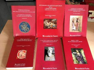 Colección Anejos Exemplaria Classica, que publica la editorial de la Universidad de Huelva.
