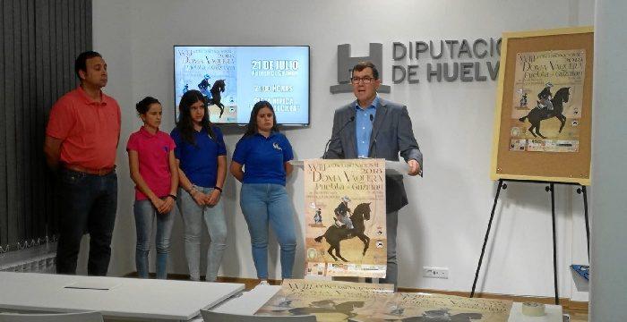 Puebla de Guzmán acoge este sábado el XVIII Concurso Nacional de Doma Vaquera