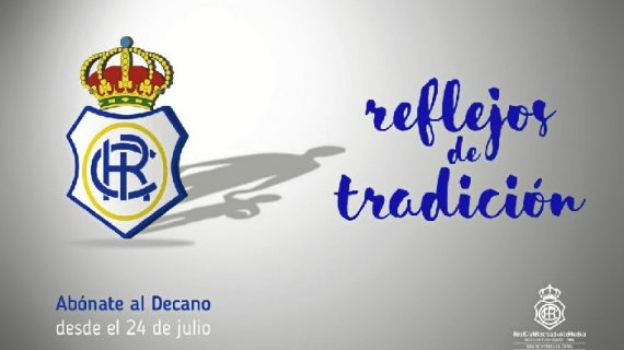 """Continúa la campaña de abonados del Recreativo bajo el lema """"Reflejos de tradición"""""""