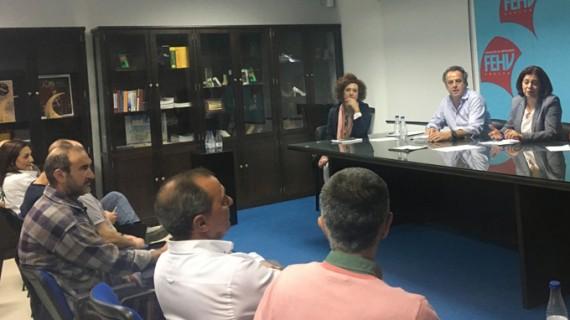 Estudian nuevas acciones de promoción y comercialización del sector del mueble en la provincia de Huelva