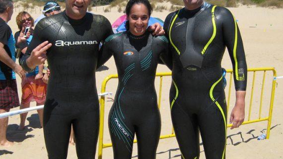 Rubén Gutiérrez, subcampeón absoluto en las Travesías de La Redondela y Santa Pura en La Antilla