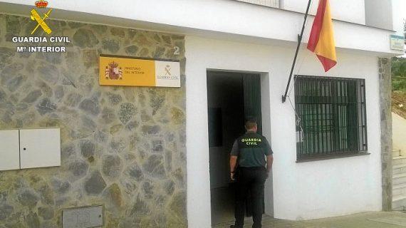 Auxiliada una mujer de 89 años que había sufrido una caída en su domicilio en Aroche