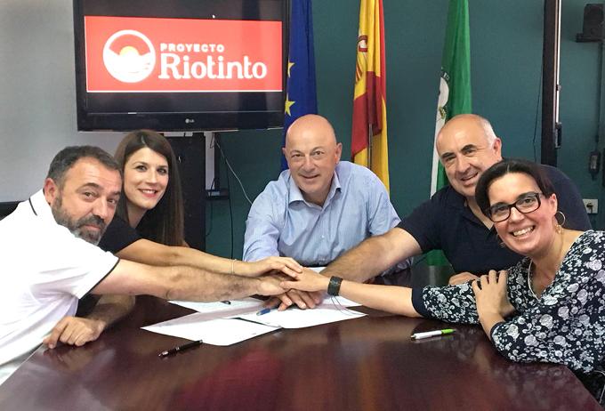 Atalaya Mining y los municipios mineros de Nerva, El Campillo, Campofrío y Berrocal acuerdan un gran marco de colaboración