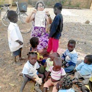 La onubense lleva más de dos décadas en África como misionera.