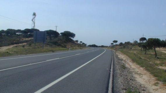 Arrancan las obras para mejorar la seguridad vial de la carretera A-483 Almonte–Matalascañas