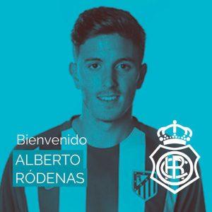 El Recre anuncia la cesión por parte del Atlético de Madrid del delantero Alberto Ródenas. / Foto: @recreoficial.