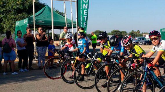 Gran fiesta del ciclismo de carretera en Bollullos con la disputa del VII Homenaje Ángel Camacho Salazar