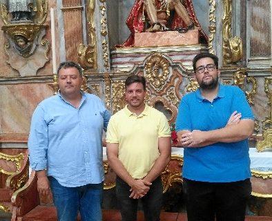 El compositor isleño Antonio Pérez Silva, presenta su marcha procesional dedicada a la Virgen de la Merced