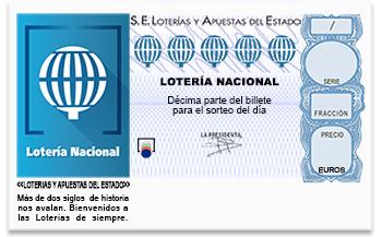 Huelva, agraciada con parte del primer premio de la Lotería Nacional, dotado con 300.000 euros
