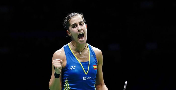 Carolina Marín hace historia al conseguir su tercer Mundial de Bádminton
