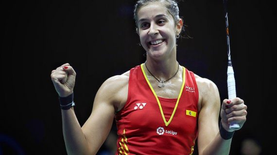 Carolina Marín se jugará ante la india Nehwal el pase a la final del Masters de Malasia de bádminton
