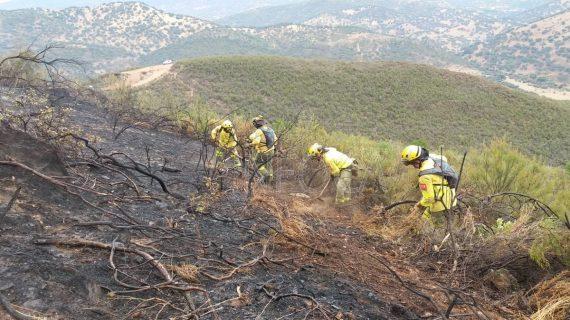 El periodo de alto riesgo de incendios se cierra con un 83% menos de superficie quemada que el anterior en Huelva