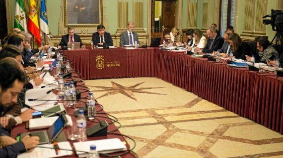 Los Presupuestos Municipales, a debate este viernes en el Ayuntamiento de Huelva