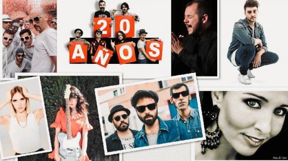 Jarabe de Palo, Anni B Sweet, Sidecars, Brisa Fenoy, Nikone y Jeromo, en los conciertos de La Cinta