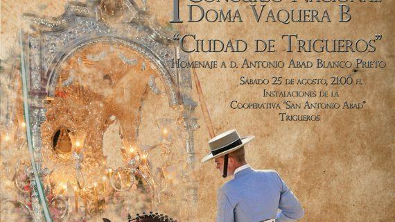 Trigueros acoge el I Concurso Nacional de Doma Vaquera 'Ciudad de Trigueros'