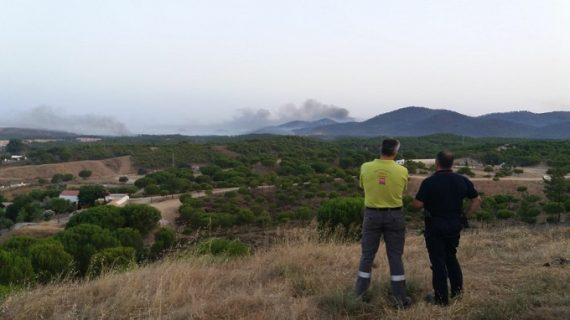 Aprobadas las obras de emergencia para la recuperación de la zona afectada por el incendio de Nerva