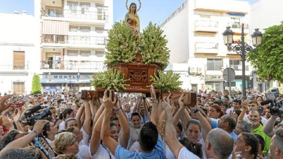 Punta del Caimán pone punto y final a sus fiestas patronales