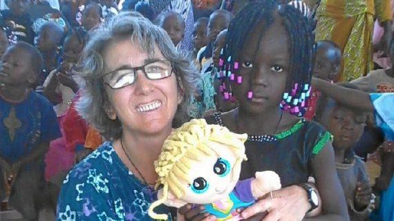 Loli Mendoza, una cumbreña que lleva dos décadas ofreciendo a África lo mejor de ella