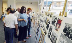 La muestra recoge importantes momentos de la historia del CD Punta Umbría.
