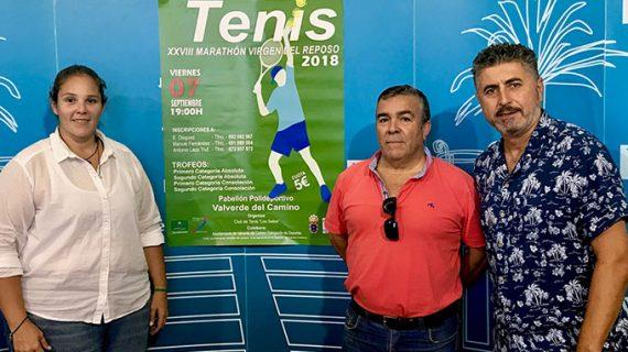 Valverde del Camino celebra una nueva edición del Maratón de Tenis 'Virgen del Reposo'