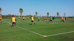 El San Roque ultima los detalles para afrontar una nueva temporada. / Foto: @SanRoqueLepe.
