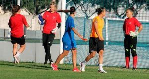 El Sporting Puerto de Huelva inició el lunes su cuarta semana de pretemporada. / Foto: @sportinghuelva.