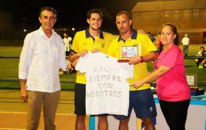El torneo sirvió también para recordar a Raúl Trapero, un moguereño enamorado de su pueblo recientemente fallecido.