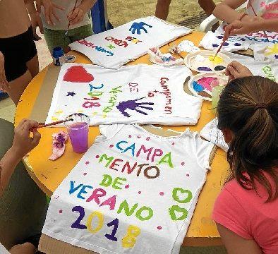 La diversión del campamento infantil 'Los Morenitos' en Trigueros continúa durante el mes de agosto tras tres exitosas ediciones