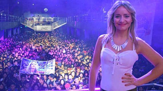 """Vicky Corbacho: """"Cantar en Huelva me hace una tremenda ilusión. Siempre la llevo por bandera allá donde voy"""""""