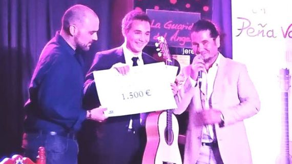 El moguereño Álvaro Mora, primer premio en el Festival de Guitarra Flamenca de Jerez