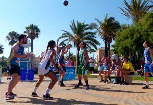 San Juan del Puerto alberga este sábado una nueva cita del Circuito Provincial 3x3 de baloncesto.