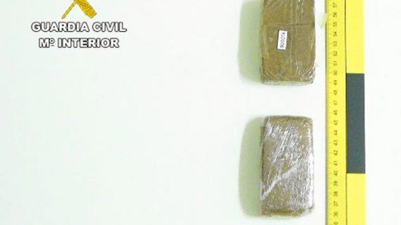 Detención en Trigueros por un caso de tráfico de drogas