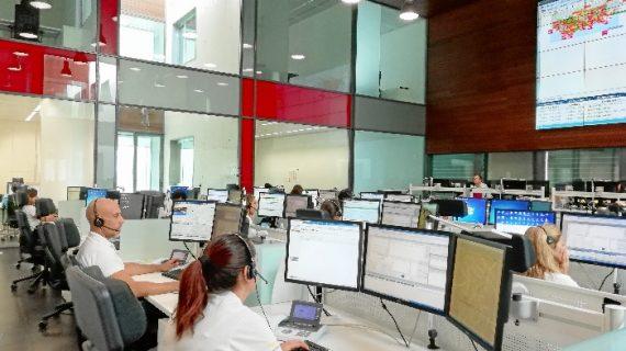 Emergencias 112 gestiona más de 260 incidencias en Huelva durante el primer fin de semana de Semana Santa