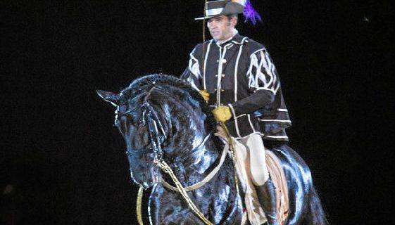 Puebla de Guzmán acoge este lunes la 42º Exhibición Hípica de Feria con el espectáculo 'Siglo de Oro'