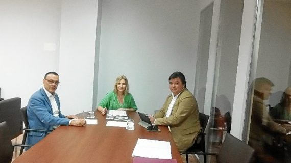 Subdelegación, Ayuntamiento y Diputación se unen para coordinar acciones para mejorar las conexiones ferroviarias de Huelva