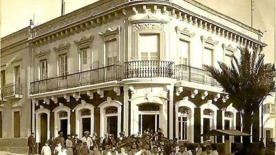 Plaza de la Merced n°1 en la segunda década del siglo XX