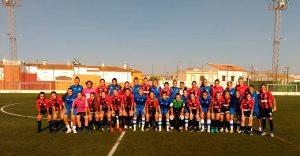 Niebla albergó el duelo entre el primer y el segundo equipo del Sporting Puerto de Huelva. / Foto: @sportinghuelva.