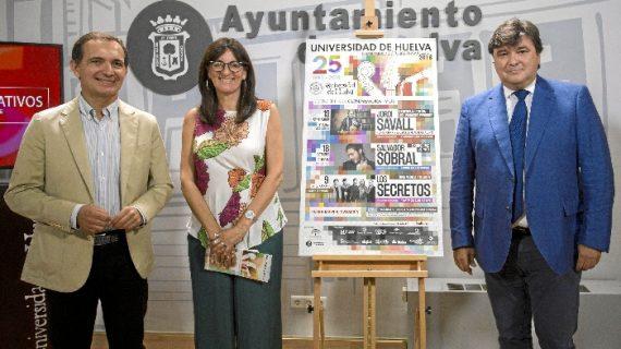 Los conciertos de Los Secretos, Jordi Savall y Salvador Sobral ponen el broche de oro al 25 Aniversario de la UHU