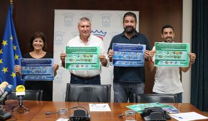 Un momento de la presentación de la oferta deportiva municipal en Cartaya.