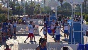 Diez localidades de la provincia han albergado durante este verano el Circuito Provincial 3x3 de baloncesto de Diputación.