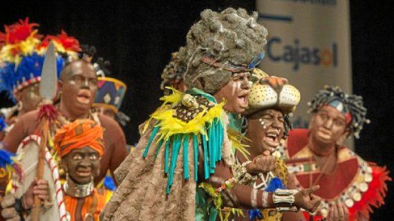 La chirigota del Vera  'No tenemo el congo pa farolillos' actuará en el Gran Teatro de Huelva en la gala del humor de la Fundación Cajasol