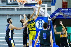 Después de ganar al Ciudad de Moguer, el CDB Enrique Benítez accedió a la final del Trofeo Diputación de baloncesto. / Foto: www.andaluzabaloncesto.org.