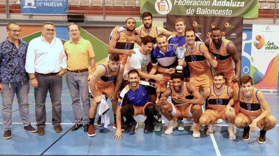 El Krypteia Capital Huelva impuso su condición de favorito y conquistó el Trofeo Diputación-Memorial Manuel Ortíz 'Boby'