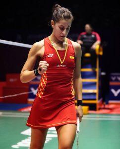 Carolina Marín sigue con el paso firme en el Abierto de China y ya está en las semifinales. / Foto: Badminton Photo.