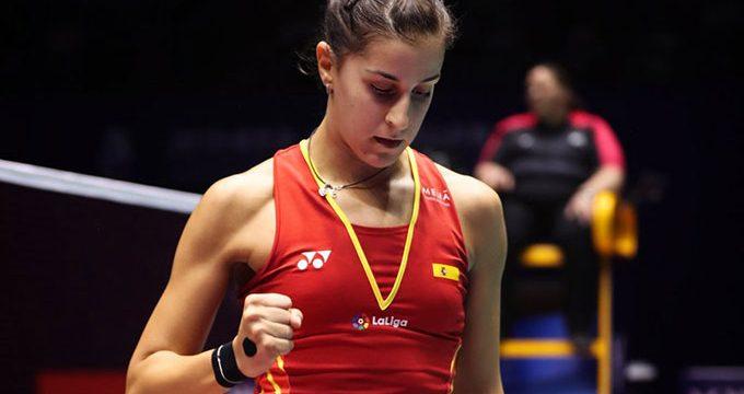 Carolina Marín no pudo celebrar su regreso a las pistas tras su lesión con una victoria en el Open de Vietnam