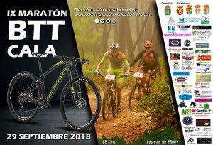 Cartel anunciador de la prueba que tendrá lugar el próximo 29 de septiembre en Cala.