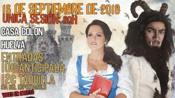 La Casa Colón acoge el cuento musical 'El Hechizo', basado en 'La Bella y la Bestia'