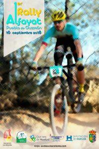 Cartel de la prueba ciclista que se celebrará en La Puebla de Guzmán.