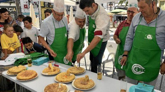 Valverde del camino busca la mejor tortilla de patatas en su concurso de cocina