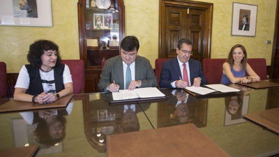 Firmado un acuerdo para la dinamización cultural de Huelva